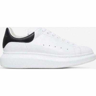 アレキサンダー マックイーン ALEXANDER MCQUEEN メンズ スニーカー シューズ・靴 Show leather platform trainers WHITE