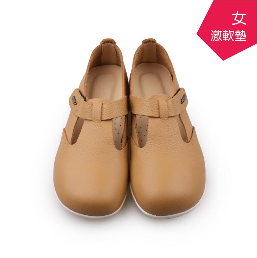 【A.MOUR 經典手工鞋】頂級牛革饅頭鞋 - 松果棕(2200)