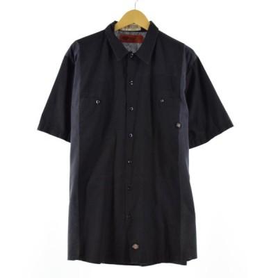 ディッキーズ Dickies 半袖 ワークシャツ メンズXL /eaa169394