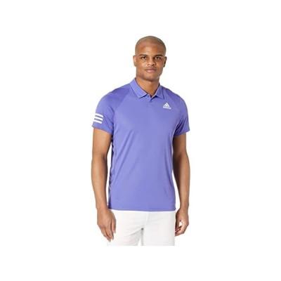(取寄)アディダス メンズ クラブ 3ストライプ ポロ adidas Men's Club 3-Stripes Polo Purple/White