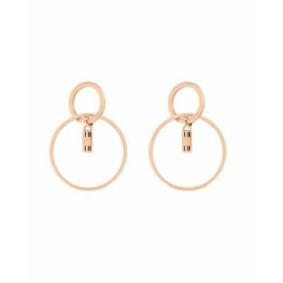 トミー ヒルフィガー レディース ピアス・イヤリング アクセサリー Women's Carnation Gold-Tone Earrings Gold-tone