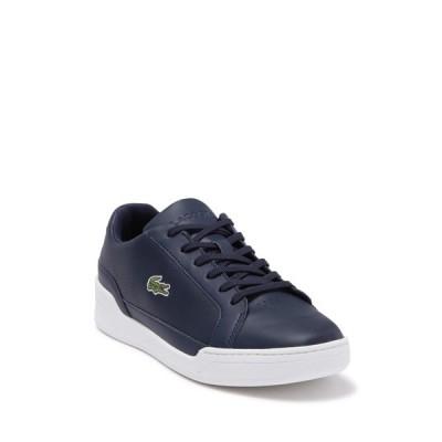 ラコステ メンズ スニーカー シューズ Challenge Perforated Sneaker NAVY/WHITE