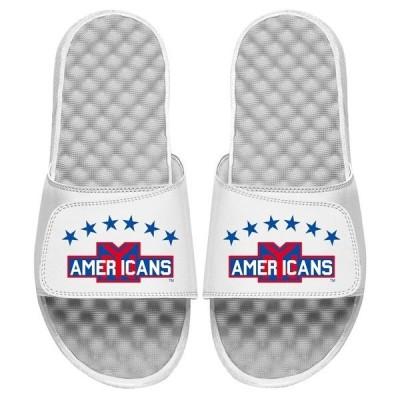 アイスライド レディース サンダル シューズ New York Americans ISlide Vintage Logo Slide Sandals