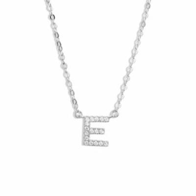 ノードストローム NORDSTROM レディース ネックレス ジュエリー・アクセサリー Delicate Cubic Zirconia Initial Pendant Necklace E/Cle