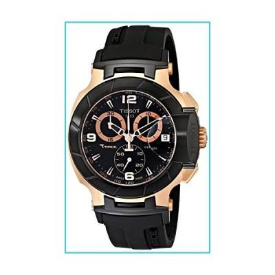 Tissot Men's T0484172705706 Rose Gold-Tone Watch with Black Band【並行輸入品】