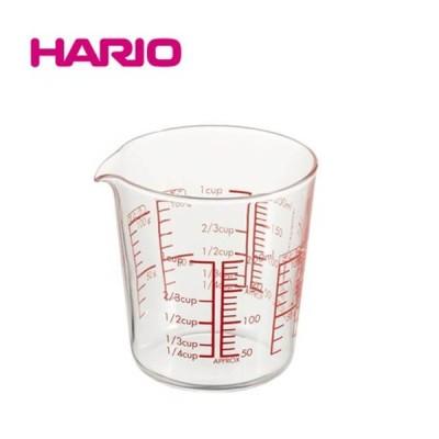 ハリオ 耐熱ガラス製 メジャーカップ 200 MJC-20-R-BK HARIO 計量カップ 調理 キッチン