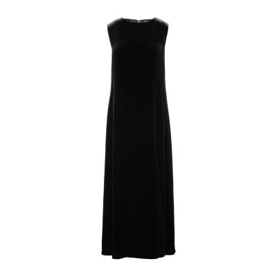 アスペジ ASPESI ロングワンピース&ドレス ダークブラウン 38 レーヨン 82% / シルク 18% ロングワンピース&ドレス