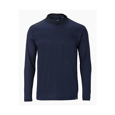 ローリングス(Rawlings) 野球用 大人用 モックネックロングスリーブシャツ 長袖 AST10F02 ネイビー サイズ O