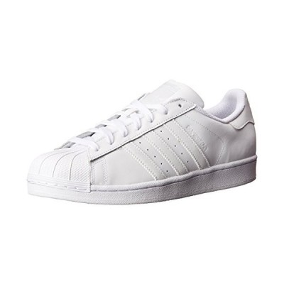 adidas Originals Women's Superstar Sneaker, White/White/White, 6