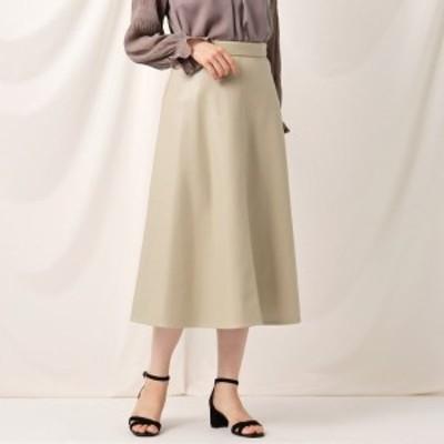 クチュールブローチ(Couture Brooch)/フェイクエコレザースカート
