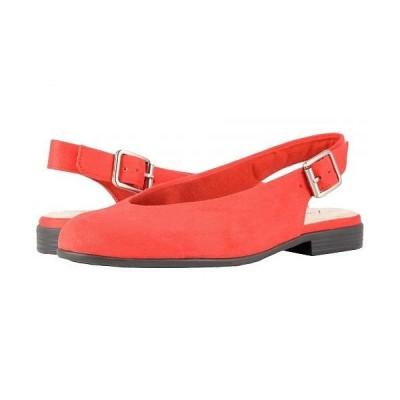 Trotters トロッターズ レディース 女性用 シューズ 靴 フラット Alice - Red Microsuede