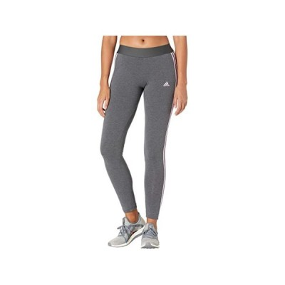 (取寄)アディダス レディース 3ストライプ レギンス adidas Women's 3-Stripes Leggings Dark Grey Heather/Lilac