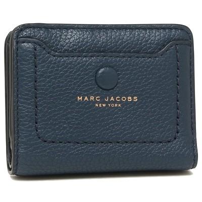 マークジェイコブス 折財布 ミニ財布 アウトレット レディース MARC JACOBS M0014215 426 ブルー