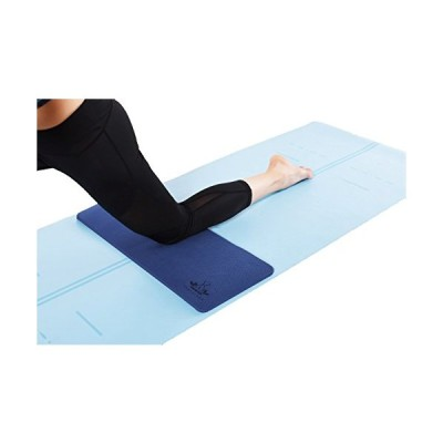 """Yoga Knee Pad by Heathyoga, Great for Knees and Elbows While Doing Yoga and Floor Exercises, Kneeling Pad for Gardening, Yard Work and Baby Bath. 26""""x"""