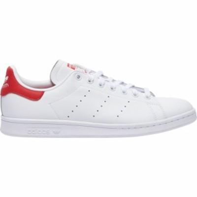アディダス オリジナルス メンズ スタンスミス adidas Originals Stan Smith スニーカー White/White/Lush Red