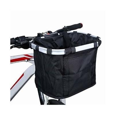 自転車かご 折りたたみ式 脱着式 前かご バスケット 防水 耐荷重10KG マウンテンバイク クロスバイク 折り畳み