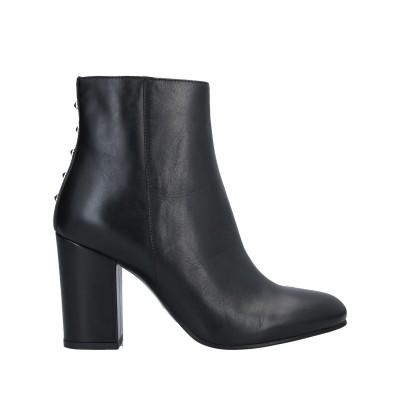 LORETTA PETTINARI ショートブーツ ブラック 40 牛革(カーフ) ショートブーツ