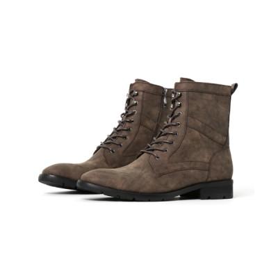 JACKROSE / PUミリタリーシューレースブーツ MEN シューズ > ブーツ
