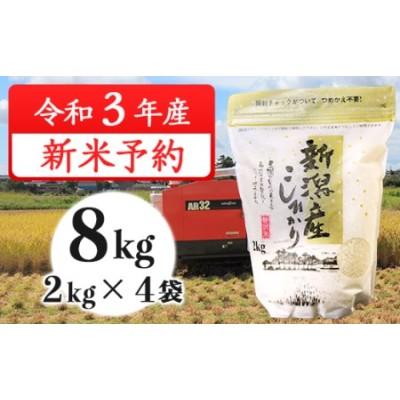 31-02新潟県産コシヒカリ8kg(2kg×4袋)