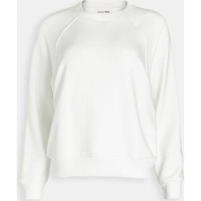 リフォーメーション Reformation レディース スウェット・トレーナー トップス Rio Classic Sweatshirt Vintage White