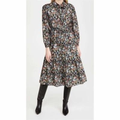 レベッカ テイラー La Vie Rebecca Taylor レディース ワンピース ワンピース・ドレス Long Sleeve Petit Zinnia Dress Black Combo