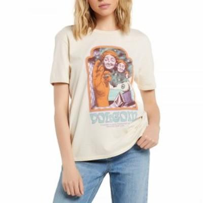 ボルコム Volcom レディース Tシャツ トップス max loeffler short sleeve t-shirt Sand