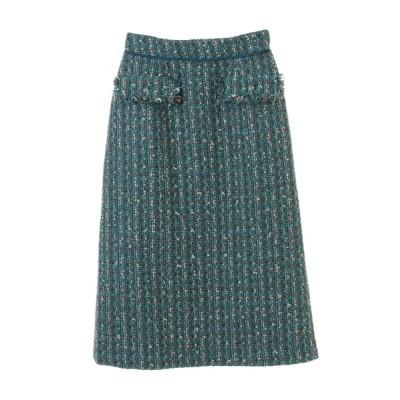 31 Sons de mode / ツイードタイトスカート WOMEN スカート > スカート
