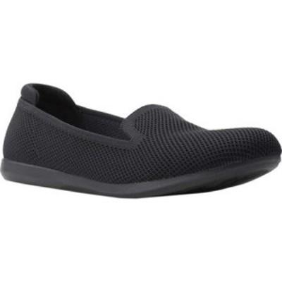 クラークス Clarks レディース ローファー・オックスフォード シューズ・靴 Carly Dream Knit Loafer Black Solid Knit