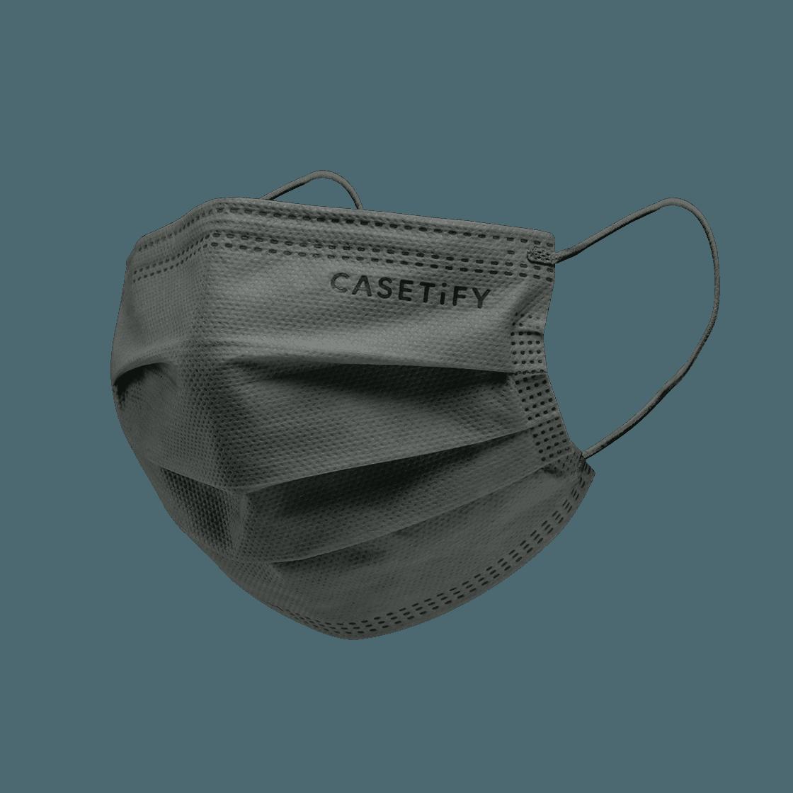 CASETiFY Disposable Mask 5pcs Box Set - Disposable Mask 5pcs Box Set - Charcoal (Dark Grey)