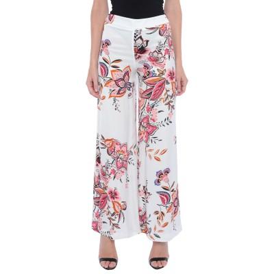 SOALLURE パンツ ホワイト 38 レーヨン 100% パンツ