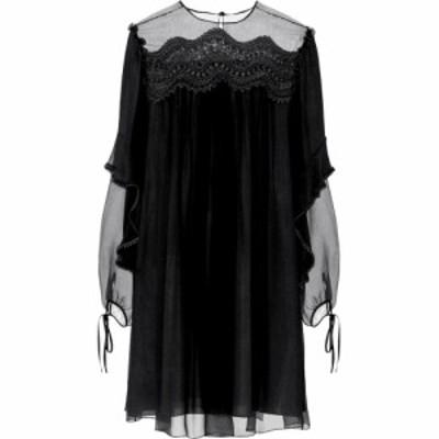 クロエ Chloe レディース ワンピース ワンピース・ドレス silk dress Black