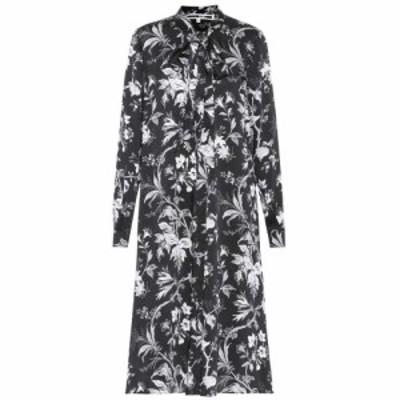アレキサンダー マックイーン McQ Alexander McQueen レディース ワンピース ワンピース・ドレス Floral-printed dress Darkest Black