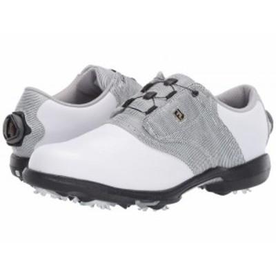 FootJoy フットジョイ レディース 女性用 シューズ 靴 スニーカー 運動靴 DryJoys White/Black/White【送料無料】