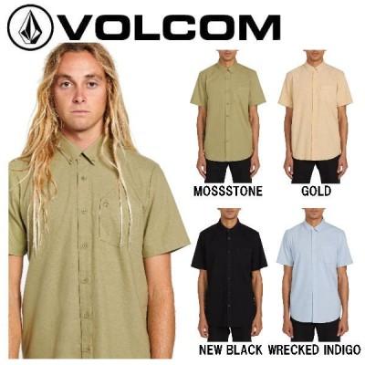 ボルコム VOLCOM EVERETT OXFORD SHORT SLEEVE メンズ シャツ 半袖 スケートボード スノーボード サーフィン正規品