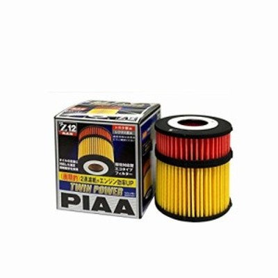 PIAA オイルフィルター ツインパワー 1個入 (トヨタ車用) レクサス・クラウン・マークX_他 Z12