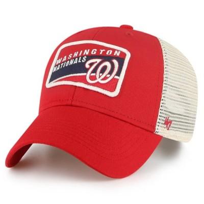 ワシントン・ナショナルズ '47 Youth 少年用 Topher MVP Trucker Snapback キャップ - Red