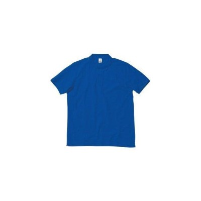 COTTON STAFF(コットンスタッフ) CVC鹿の子ドライポロシャツ ロイヤルブルー 5L MS3113-7 5L 1枚