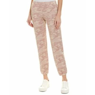 Monrow モンロー ファッション パンツ Monrow Camo Sweatpant S Pink