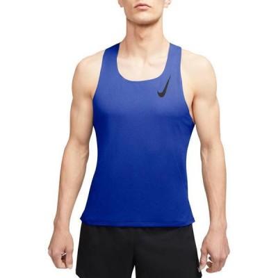 ナイキ メンズ シャツ トップス Nike Men's AeroSwift Singlet Tank Top