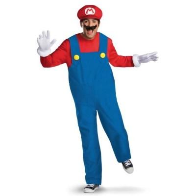 スーパーマリオ コスチューム 大人 コスプレ 衣装 ハロウィン 仮装  キャラクター 大きいサイズ テレビゲーム