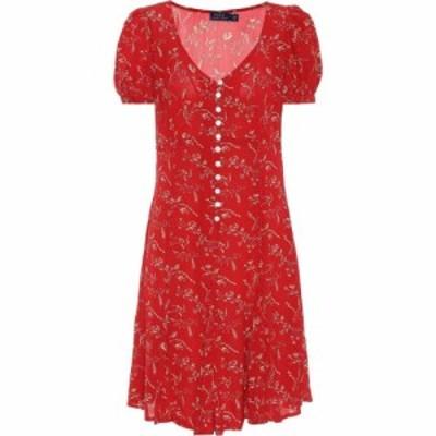 ラルフ ローレン Polo Ralph Lauren レディース ワンピース ワンピース・ドレス floral crepe de chine minidress Tender Red Floral