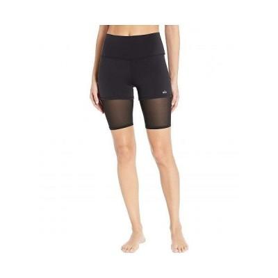 ALO エーエルオー レディース 女性用 ファッション ショートパンツ 短パン High-Waist Lavish Bike Shorts - Black