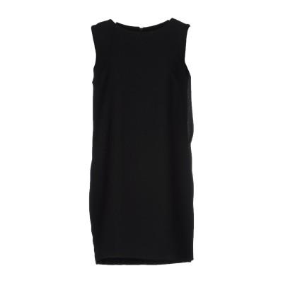 ジゼル G.SEL ミニワンピース&ドレス ブラック 42 100% ポリエステル ミニワンピース&ドレス