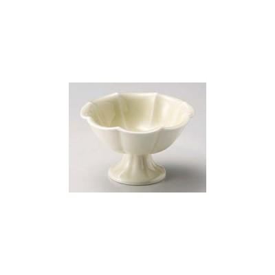 和食器 テ048-197 黄白瓷高台4.0小鉢