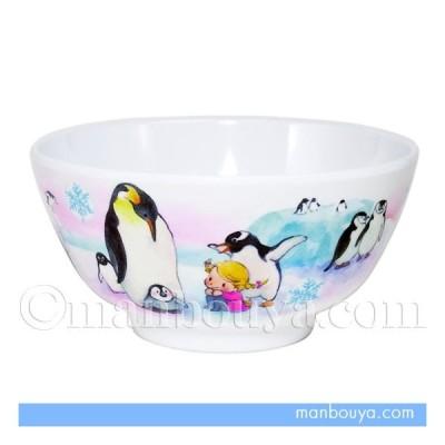 メラミン 茶碗 子供用 食器 水族館グッズ 海の生き物 ペンギン 智光