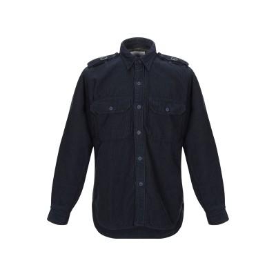 DEPERLU シャツ ダークブルー M コットン 100% シャツ