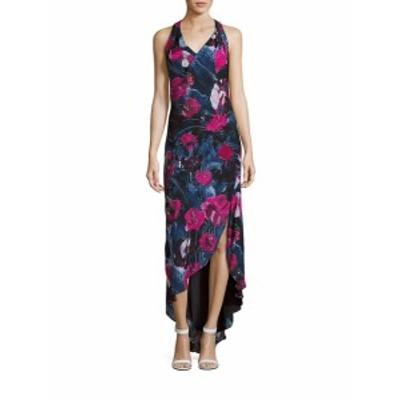 オートヒッピー レディース ワンピース Ruffled Floral Print Hi-Lo Dress