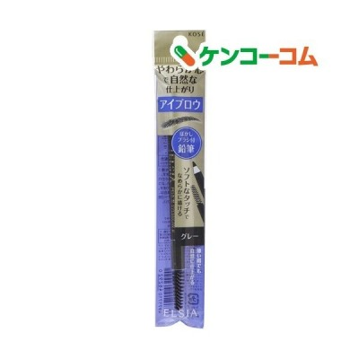 エルシア プラチナム 鉛筆 アイブロウ (ブラシ付) グレー GY002 ( 1.1g )/ エルシア