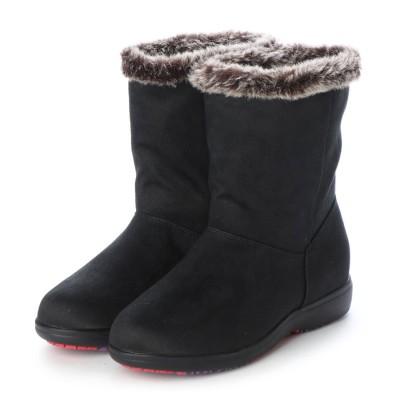 ムーンスターイブ MOONSTAR EVE 【防水・すべりにくい靴】EVE あったか防水・防寒ブーツ WPL054 (ブラック)
