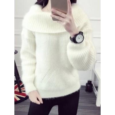 厚手 気質溢れる ファッション 合わせやすい 多色 着心地良い ニット セーター